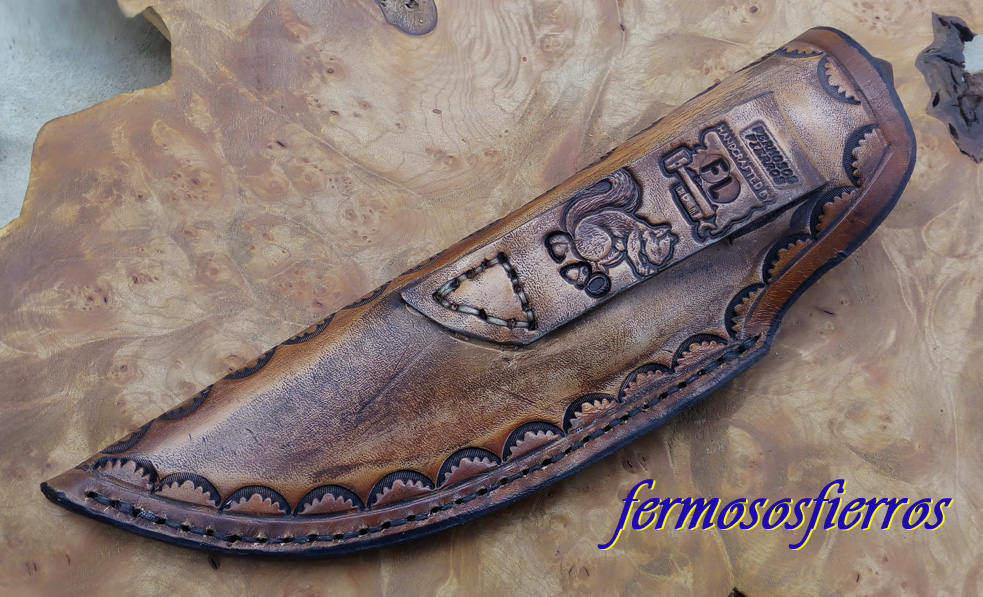 damascus cable knife